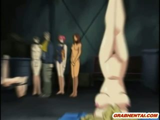 hentai seks, heetste anime thumbnail, gebonden neuken