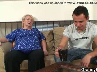 bunică, bunicuță, matur, old pussy