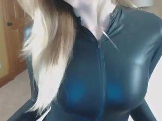 heetste lingerie thumbnail, latex neuken, echt catsuit kanaal