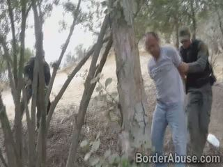 Petite 18yo beauty does not scape from the border patrol