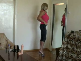 fresh blondes thumbnail, full jeans film, any crossdressing thumbnail