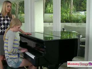 Musical mama weitergeben wichse mit stepteen