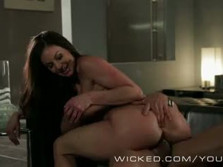 Wicked - Kendra Lust sucks some bicker cock