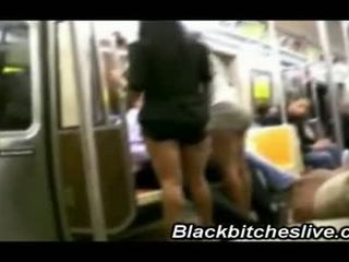2 Black Ghetto Trick Bitches Acting Simple On The