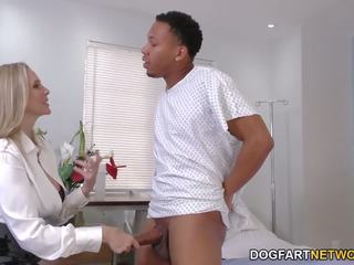 Cougar Doctor Julia Ann Cures Black Cock, Porn f6