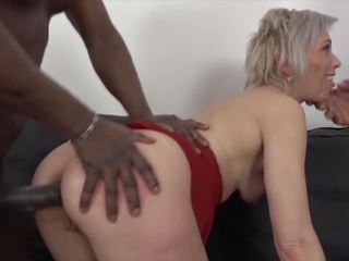 Mature gets Black Cocks in Her Pussy and Mouth Likes...
