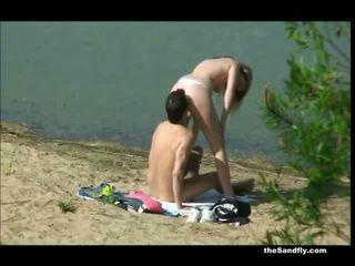 neuken actie, vers openbare sex porno, verborgen camera's klem