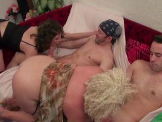 Regina and a Friend Banged by few Cocks, Porn 24