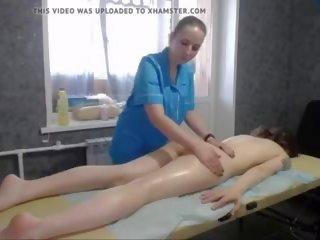 Cute Pale Brunette Webcamer Lesbian Massage: Free Porn 4a