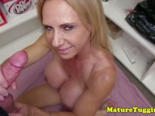 Bigtit Mature POV Stroking Young Blokes Cock: Free Porn 69