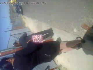 זרע en secretaria combo שערה, חופשי בחוץ פורנו וידאו 3f
