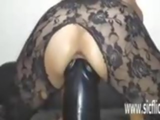 rated fucking sex, sex toy, full gaping tube