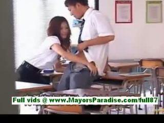 Yuki asada de la idol69 matura asiatic invatatoare la școală gets o muie