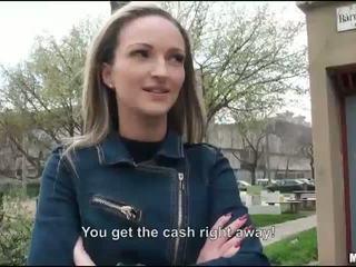 Tihke eurobabe melanie perses jaoks raha