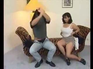 Mollig indisch tante fucks