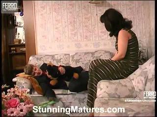 Stunning Matures Proudly Presents Bridget, Connor, Emilia In Porn Clip
