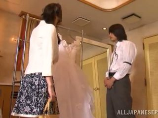 Yui tatsumi the erotic gelin gives a thang gotak suck to her fiance