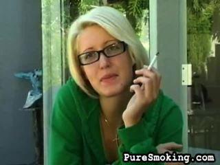 videa, mladé dívky kouření, kouření fetish