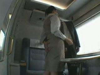 Japanese Train Attendant Cfnm Blow Job Dandy 140