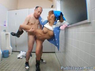 Asiática broche público