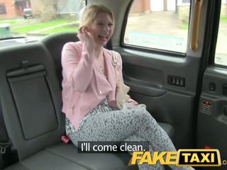Faketaxi uzbudinātas klients calls taxi bluff
