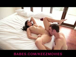 Valerie Kay - Valerie gets laid down and penetrated by her well hung BF