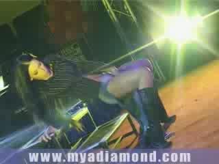 Mya diamond bij de erotisch festival
