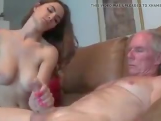tits, dad, old+young