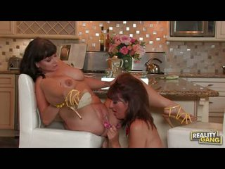Sluty Wench Desi Foxx Couldnt Acquire Enough With The Lesbian Action Until She Cums