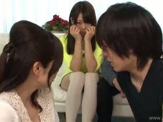 जापानी, समूह सेक्स, blowjob