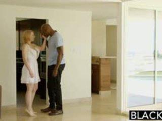 Blacked blond babysitter trillium fucks sie schwarz boss