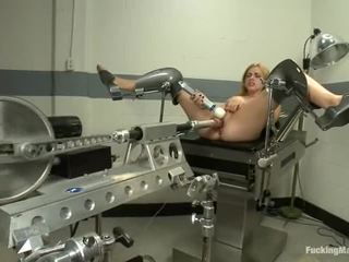 Lexi Belle Has Machine Shagged After Gyno Exam