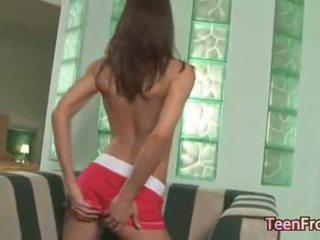 Teen from EU with killer ass teasing