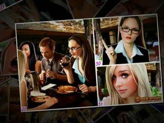 Nicole heat - the vestuvės gang-bang