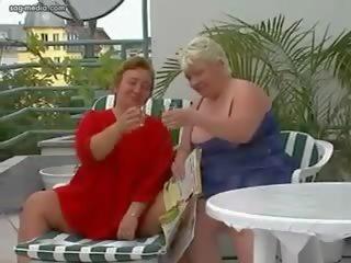 Groß Meise Lesbisch Double Dildo