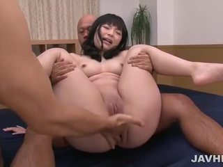 Hina Maeda in japanese threesome