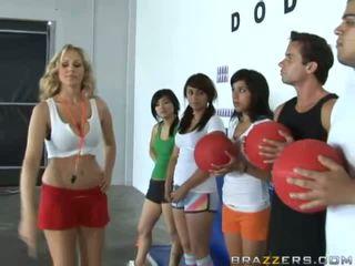 sports, vienmērīgs, girls in uniform