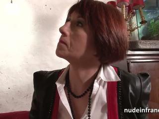 Ondeugend frans huisvrouw hard anaal pounded met sperma 2