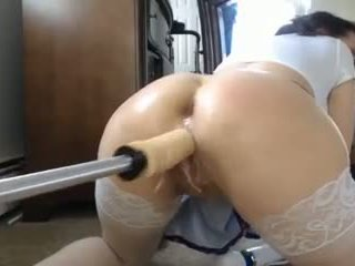Webcam Girl with Double Dildo Fucking Machine: Free Porn e0