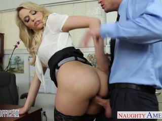 Sexy büro mieze mia malkova ficken
