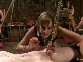 Lady Domination Have Laid Fest Nearby Fellows Having Strapon Shaged And Humiliated