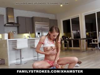 Familystrokes - Hot Teen Pounded by Her Cousin: HD Porn 3e
