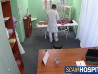 Hot adela gets doctors stor kuk therapy
