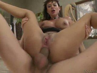 Franceska Jaimes double anal penetration
