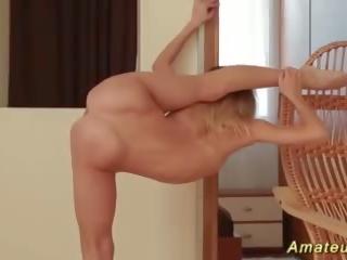 Extreem flexibel tiener stretching