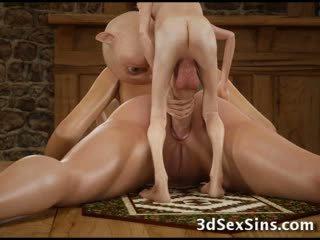3d hobbits و tentacles اللعنة الفتيات!
