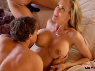 cougar, doggy style, natural tits