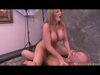 Excited Milf Sara Jay Acquires A Hot Creamy Spray Of Jizz All Over Her Face