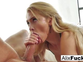 Alix Lynx Slobbers all Over a Hot Throbbing Cock: Porn 86