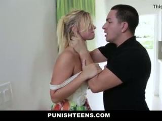 PunishTeens - Brutal Punishment For Daddys Girl <span class=duration>- 10 min</span>
